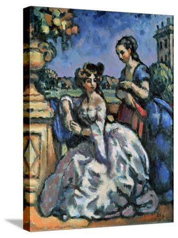The Terrace, 1909-Charles Guerin-Stretched Canvas Print