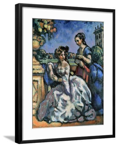 The Terrace, 1909-Charles Guerin-Framed Art Print
