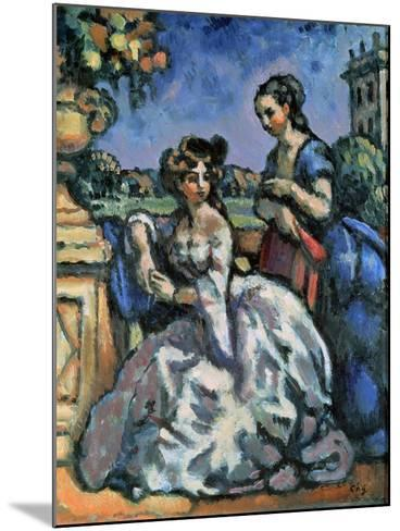 The Terrace, 1909-Charles Guerin-Mounted Giclee Print