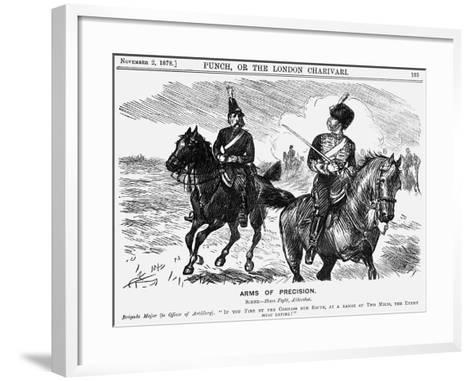 Arms of Precision, 1878-Charles Samuel Keene-Framed Art Print