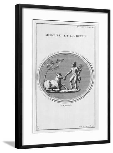 Mercury and the Ox, 1757-Bernard De Montfaucon-Framed Art Print