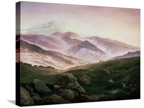 Memory of the Riesengebirge, 1835-Caspar David Friedrich-Stretched Canvas Print