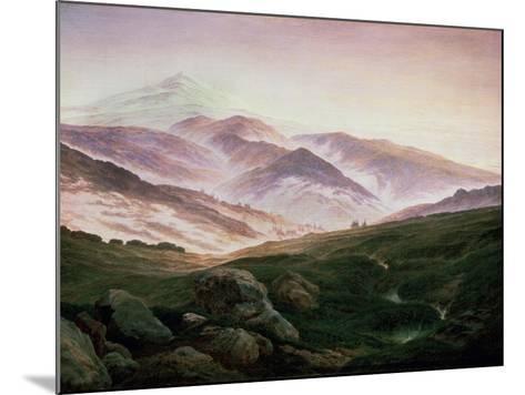 Memory of the Riesengebirge, 1835-Caspar David Friedrich-Mounted Giclee Print