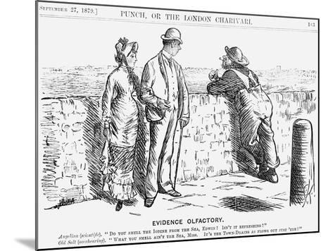Evidence Olfactory, 1879-Charles Samuel Keene-Mounted Giclee Print