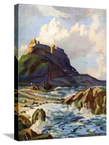 Lindisfarne, Northumberland, 1924-1926-Catharine Chamney-Stretched Canvas Print