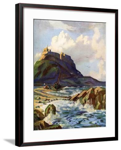 Lindisfarne, Northumberland, 1924-1926-Catharine Chamney-Framed Art Print