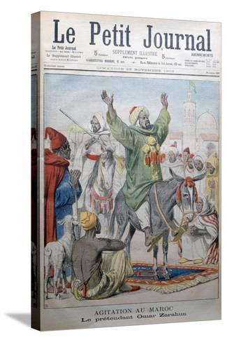 Agitation in Morrocco: Omar Zarahun Preaching Revolt, 1902-Charles Dufresne-Stretched Canvas Print