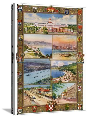 Capitals of the British Empire, 1937-Charles E Turner-Stretched Canvas Print