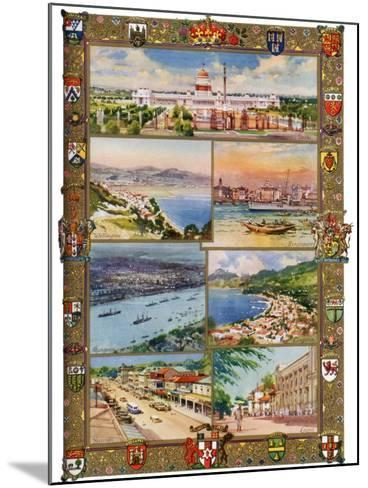 Capitals of the British Empire, 1937-Charles E Turner-Mounted Giclee Print