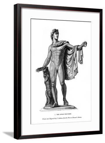 The Apollo Belvidere, 1843- Calamis-Framed Art Print