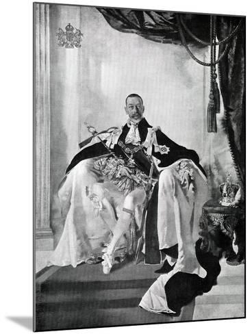 George V, 1924-Charles Sims-Mounted Giclee Print