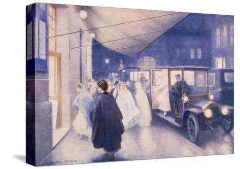 Poster Advertising Rolls-Royce Cars, C1907-Charles Sykes-Stretched Canvas Print