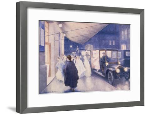 Poster Advertising Rolls-Royce Cars, C1907-Charles Sykes-Framed Art Print