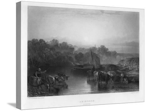 Abingdon, 19th Century-C Cousen-Stretched Canvas Print