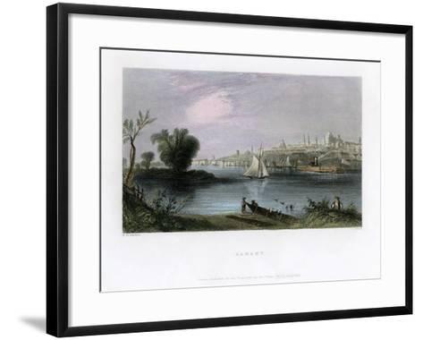 Albany, New York, USA, 1837-C Cousen-Framed Art Print