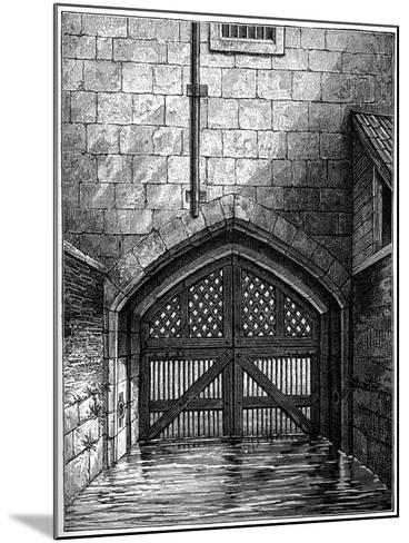 Traitors' Gate, Tower of London, 1801-Charles Tomkins-Mounted Giclee Print