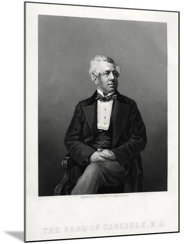 George William Frederick Howard, 7th Earl of Carlisle, British Politician and Statesman, C1880-DJ Pound-Mounted Giclee Print