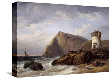 Terracina Tower, 1854-Clarkson Stanfield-Stretched Canvas Print