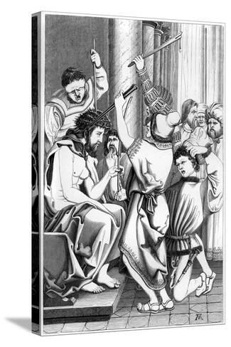 The Mocking of Christ, 16th Century- Cottard-Stretched Canvas Print