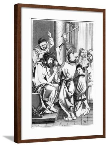 The Mocking of Christ, 16th Century- Cottard-Framed Art Print