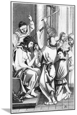 The Mocking of Christ, 16th Century- Cottard-Mounted Giclee Print