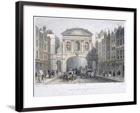 Temple Bar, London, 1854-Deroy-Framed Art Print