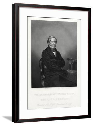 Henry William Wilson, 11th Baron Berners, C1880-DJ Pound-Framed Art Print
