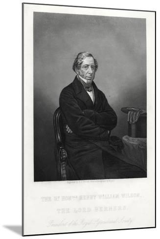 Henry William Wilson, 11th Baron Berners, C1880-DJ Pound-Mounted Giclee Print