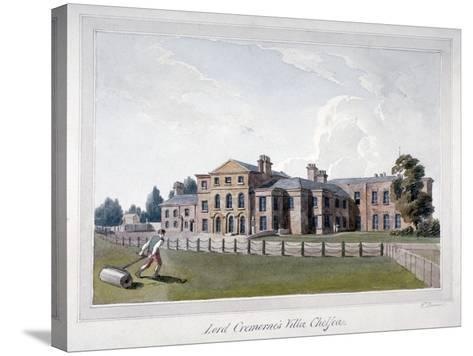 Cremorne House, Chelsea, London-E Dowell-Stretched Canvas Print
