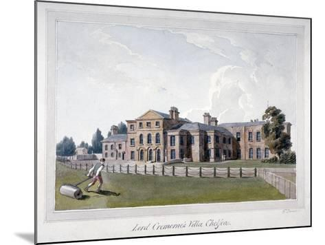 Cremorne House, Chelsea, London-E Dowell-Mounted Giclee Print