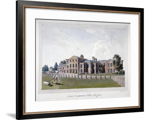 Cremorne House, Chelsea, London-E Dowell-Framed Art Print