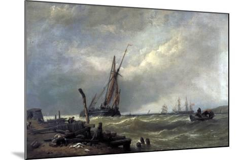 On the Texel, 1856-Clarkson Stanfield-Mounted Giclee Print