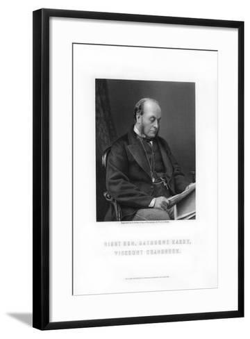 Gathorne Gathorne-Hardy, 1st Earl of Cranbrook, English Politician, 1881-E Stodart-Framed Art Print