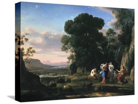 Judgement of Paris (1645-164)-Claude Lorraine-Stretched Canvas Print