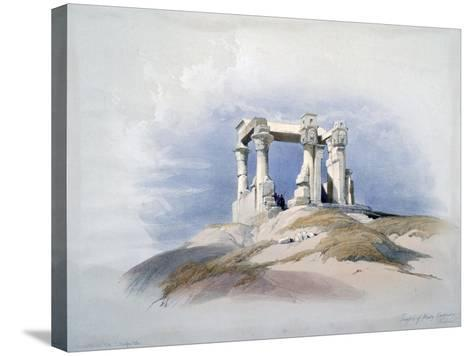 Temple of Wady Kardassy, Nubia, 19th Century-David Roberts-Stretched Canvas Print