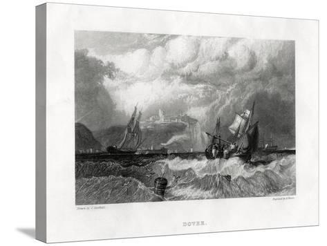 Dover, Kent, 1860-E Finden-Stretched Canvas Print