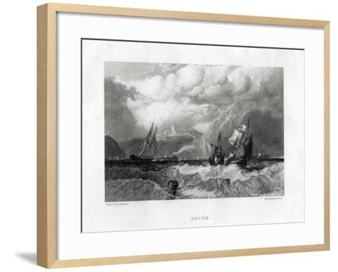 Dover, Kent, 1860-E Finden-Framed Art Print