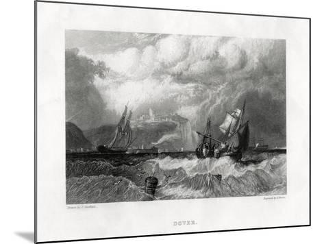Dover, Kent, 1860-E Finden-Mounted Giclee Print