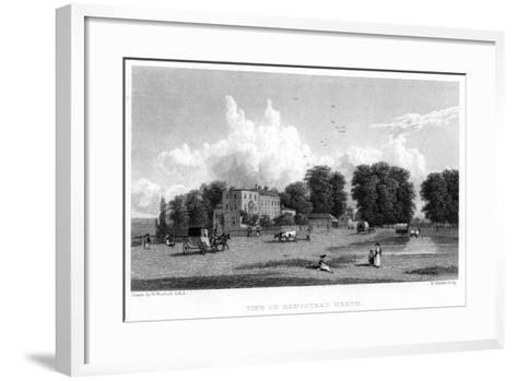View on Hampstead Heath, London, 19th Century-E Finden-Framed Art Print
