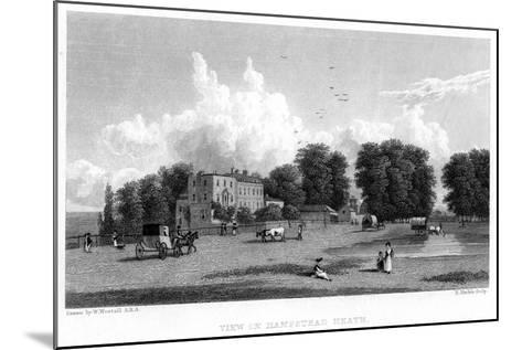 View on Hampstead Heath, London, 19th Century-E Finden-Mounted Giclee Print