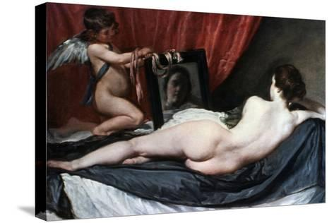 The Toilet of Venus (The Rokeby Venus), 1647-1651-Diego Velazquez-Stretched Canvas Print