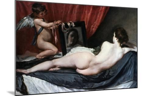 The Toilet of Venus (The Rokeby Venus), 1647-1651-Diego Velazquez-Mounted Giclee Print