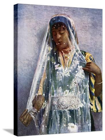 An Arab Bride-E Frechon-Stretched Canvas Print