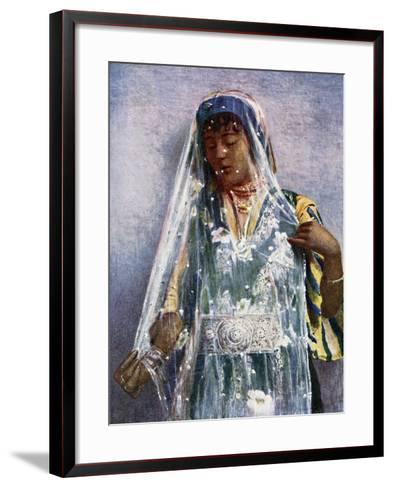 An Arab Bride-E Frechon-Framed Art Print