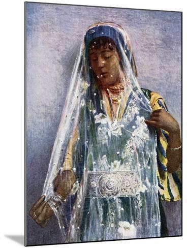 An Arab Bride-E Frechon-Mounted Giclee Print