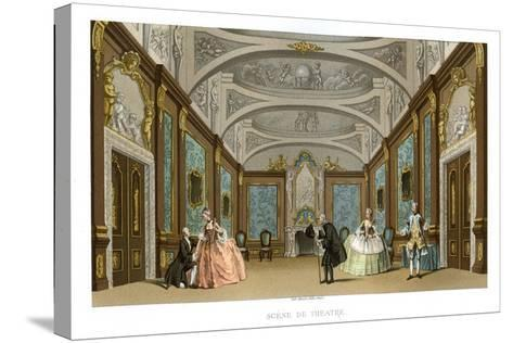 Scene from a Play- Charpentier-Stretched Canvas Print