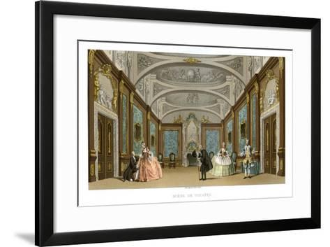 Scene from a Play- Charpentier-Framed Art Print