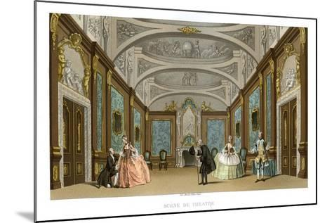 Scene from a Play- Charpentier-Mounted Giclee Print
