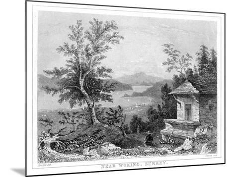 Near Woking, Surrey, 19th Century- Chavan-Mounted Giclee Print