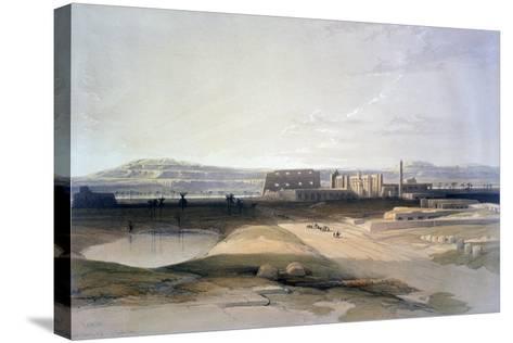 Karnac, 19th Century-David Roberts-Stretched Canvas Print